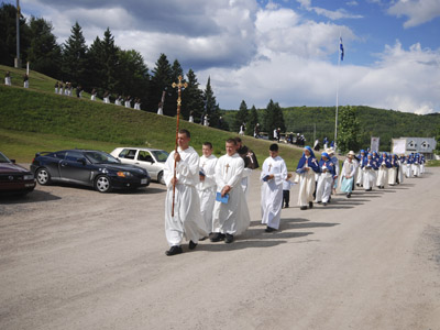 Procession traditionnelle