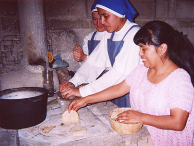 Tortillas à la mode du pays
