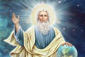 Dios, Padre Eterno, Creador y Maestro de todas cosas
