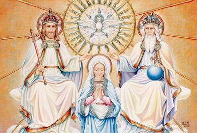 Alla Santissima Trinità