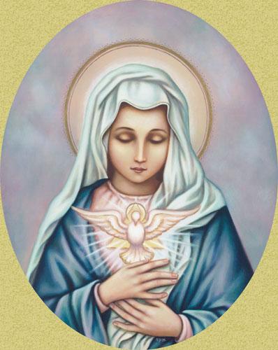 Notre-Dame, Épouse du Saint-Esprit