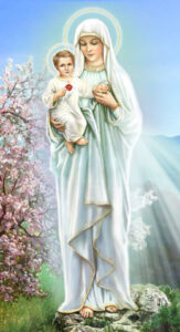 Blessed Virgin Mary and Infant Jesus
