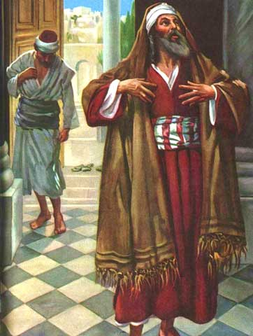 Le pharisien et le publicain