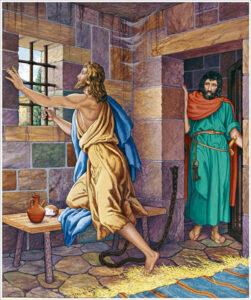 San Juan Bautista en la cárcel