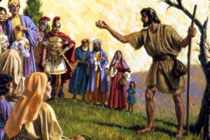 Témoignage de saint Jean-Baptiste sur Jésus