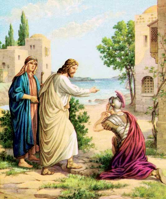Healing of the centurion's servant