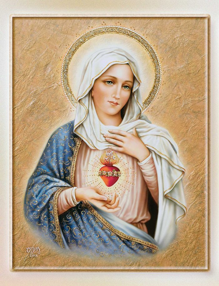 Sorrowful and Immaculate Heart of Mary