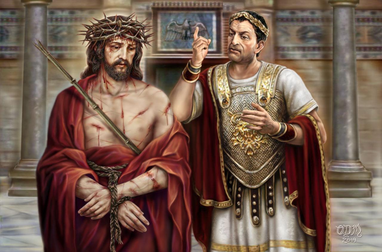 Jésus au tribunal de Pilate