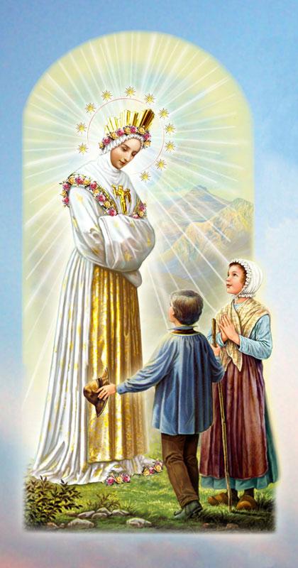 Notre-Dame de La Salette et les enfants