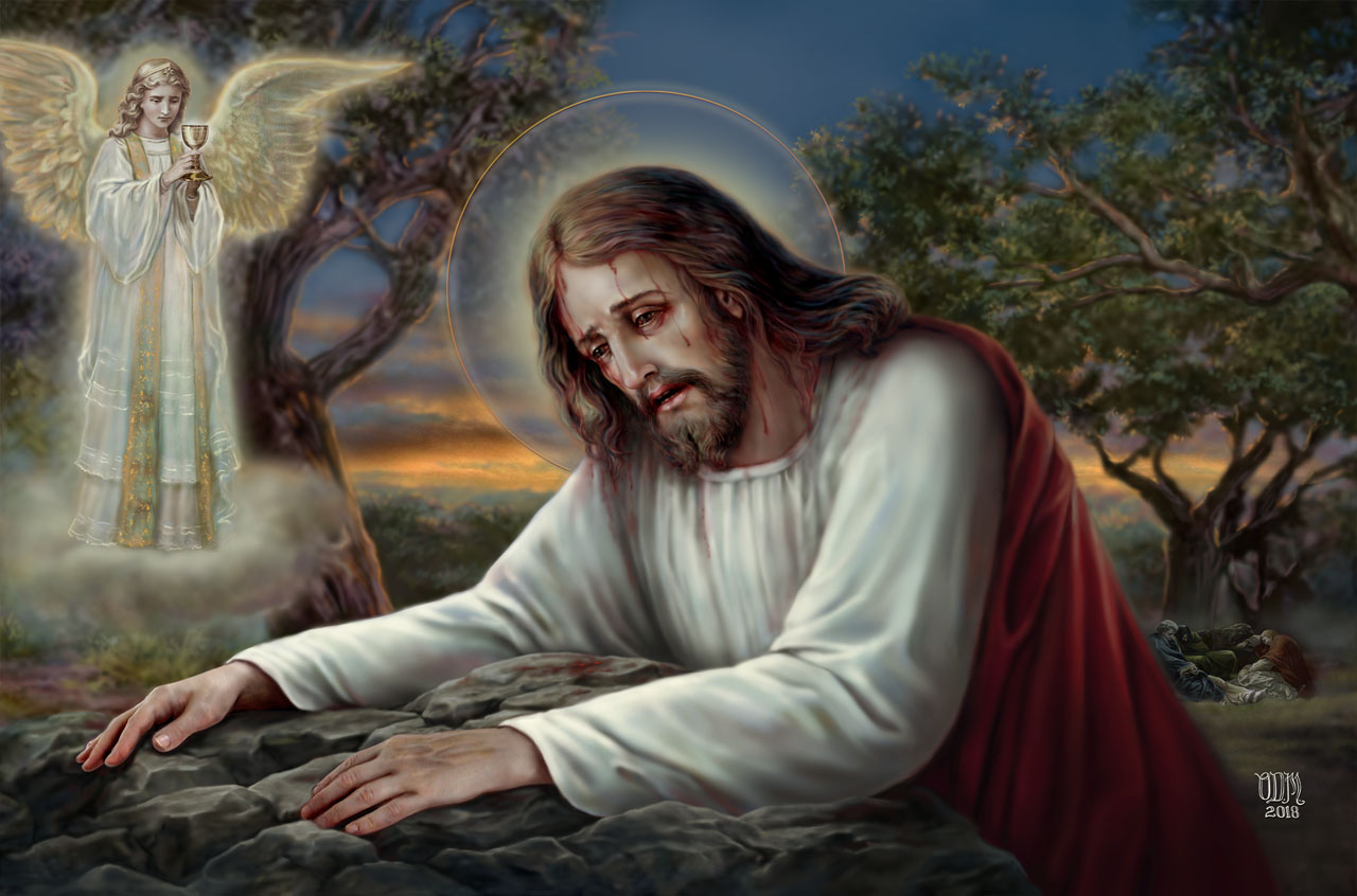 Agonie de Jésus au jardin de Gethsémani