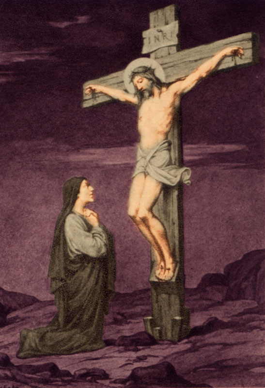 Jesus Crucified with His Most Blessed Mother Mary