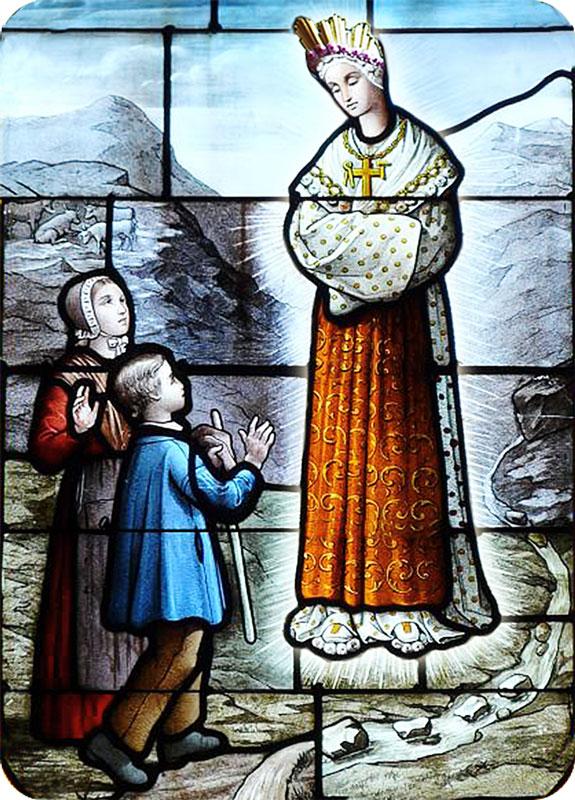 Notre-Dame de La Salette et les deux bergers