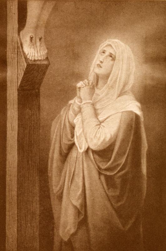 La Vierge Marie au pied de la Croix