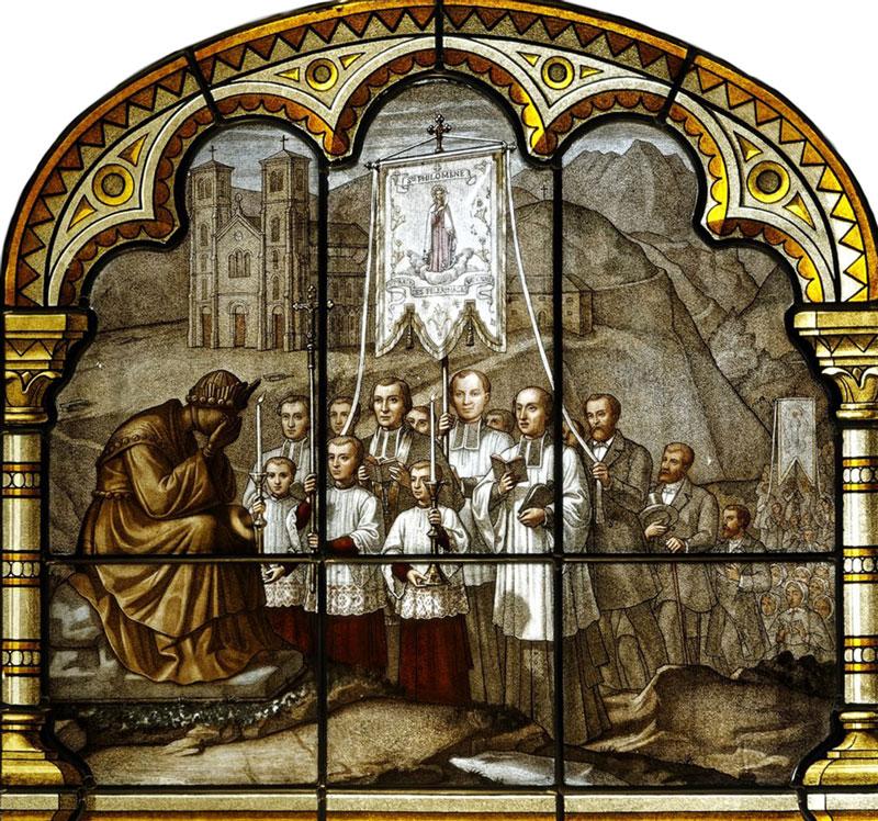 Les pèlerinages à La Salette