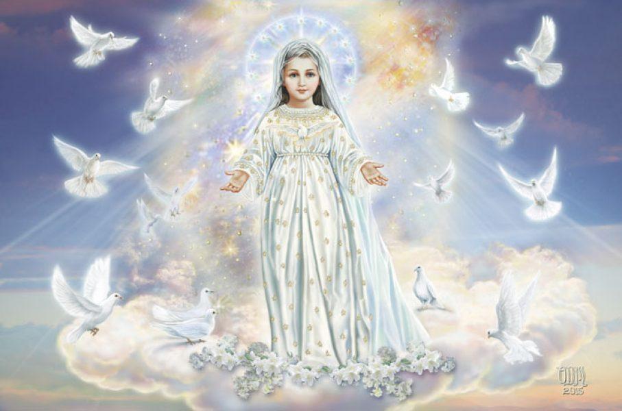 La Vierge Marie enfant